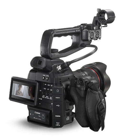 best documentary camera canon c100