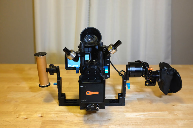 Camera Gimbal Marriage Letus Helix Canon C100