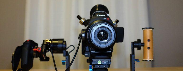 Canon C100 Letus Helix Jr Camera Gimbal
