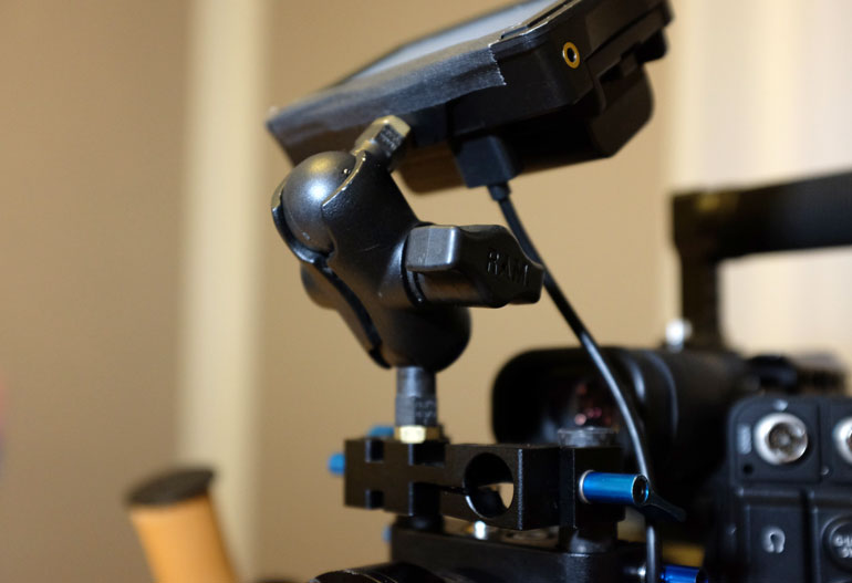 Cinevate Universal Accessory Mount with Ikan Monitor