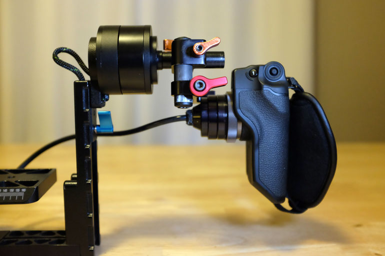 C100 C300 Grip Handle Letus Helix Zacuto Relocator