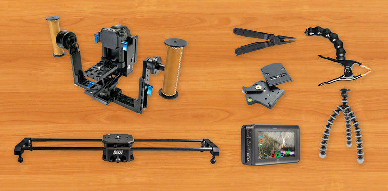 video production equipment accessories