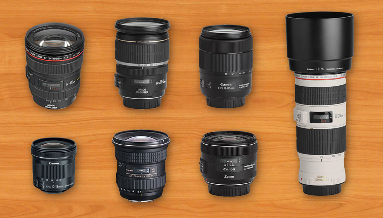filmmaking equipment lenses