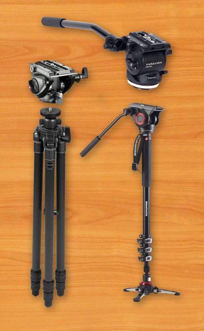 video-production-gear-documentary-filmmaking-tripods-monopods