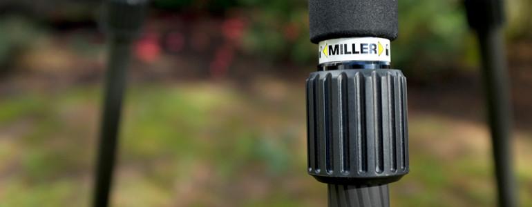 miller tripod rapid lock