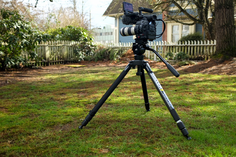 miller air tripod middle position