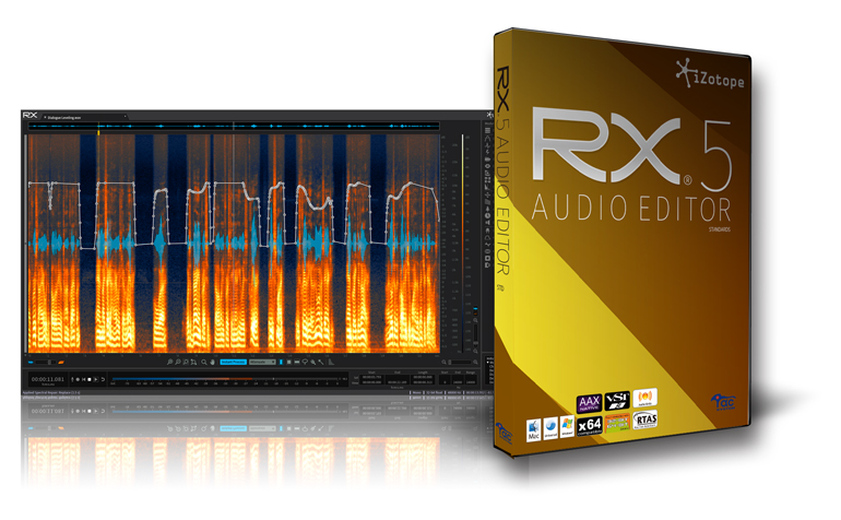 Audio Repair - iZotope RX and Zynaptiq Unveil