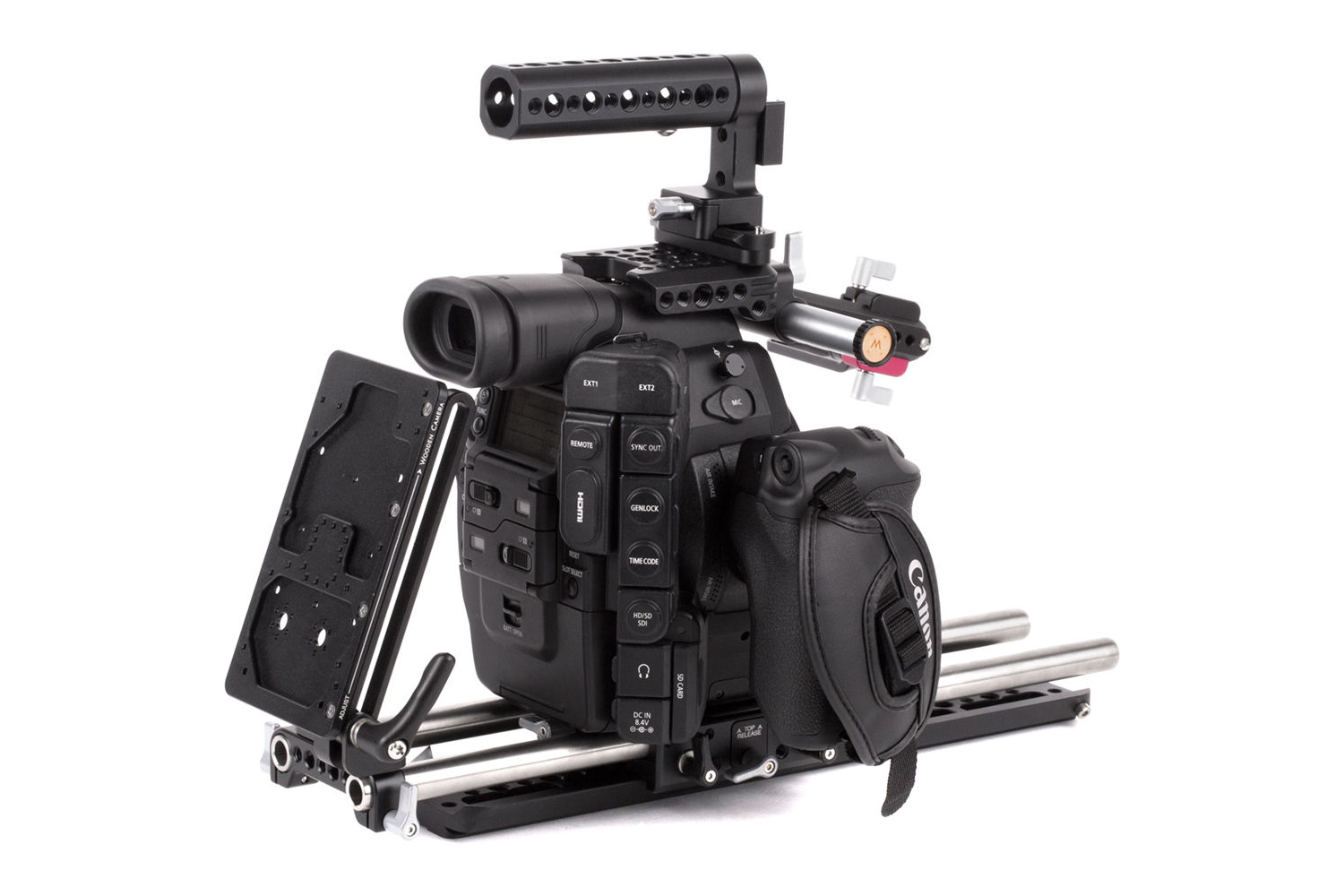wooden camera canon c300 unified kit
