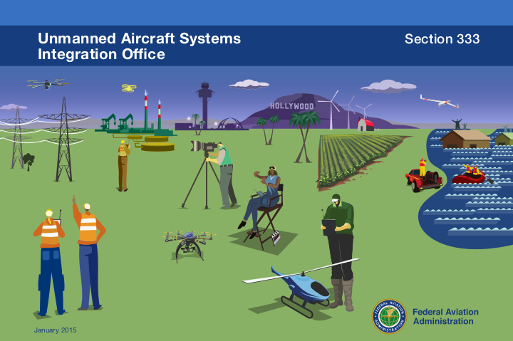 FAA 333 exemption - flying a drone with a professional camera