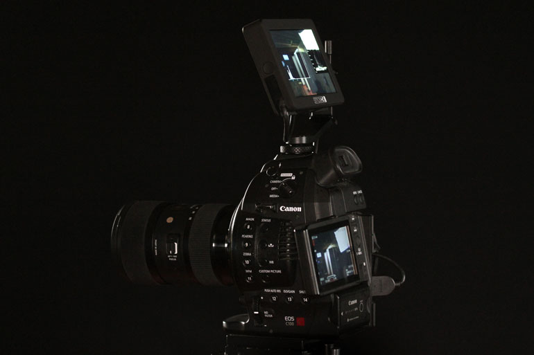 smallhd-focus-external-monitor-canon-c100-sigma-18-35