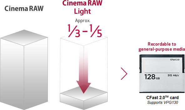 canon cinema raw cfast