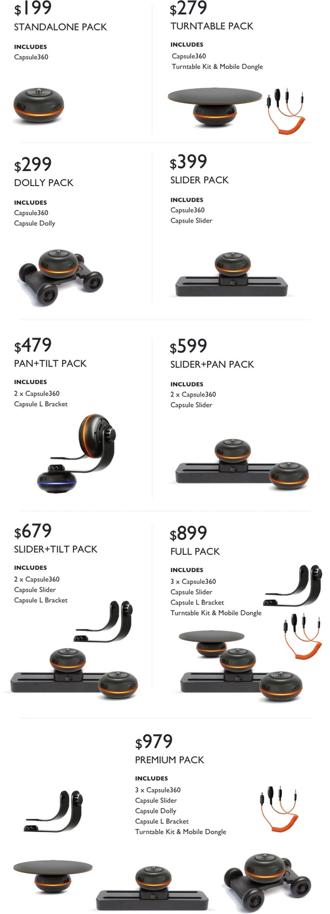 capsule360-kickstarter-cost