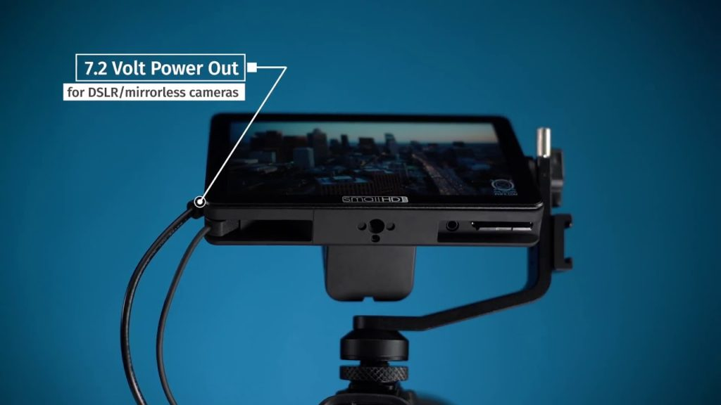 smallhd focus power out