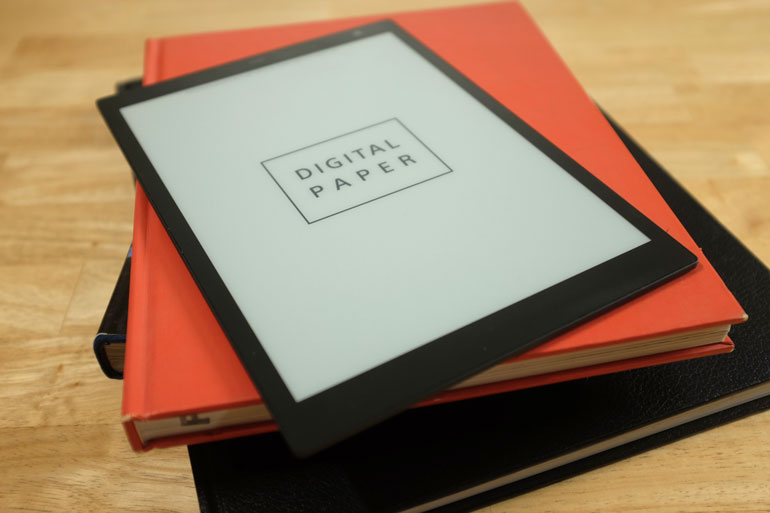 the digital paper from sony