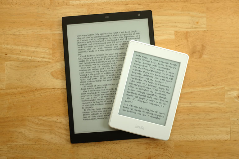 sony-digital-paper-vs-kindle-paperwhite