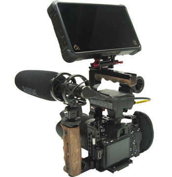 Zacuto Camera Cage for Sony A7III, A7RIII, and A9