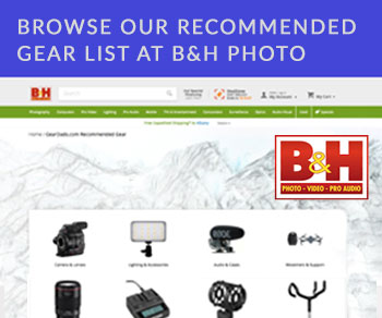 Filmmaking Equipment List at B&H Photo