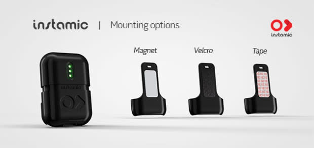 instamic quick release mounting