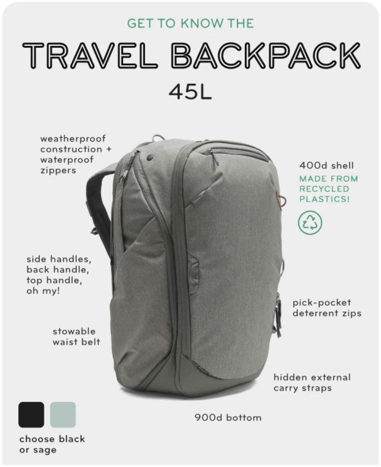 Peak Design Kickstarter Campaign For A Travel Backpack