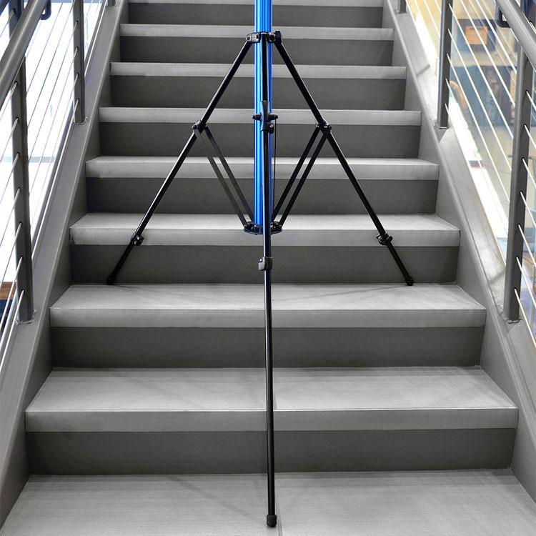 savage-light-stand-on-stairs