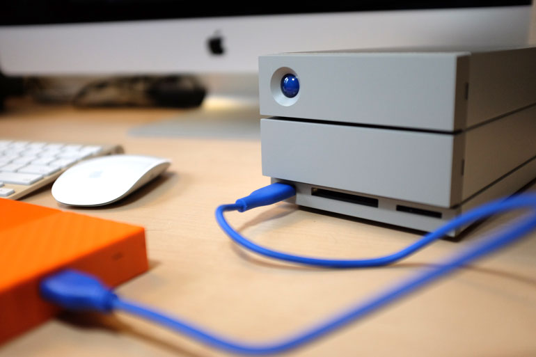 lacie-2big-thunderbolt-3-usb-port