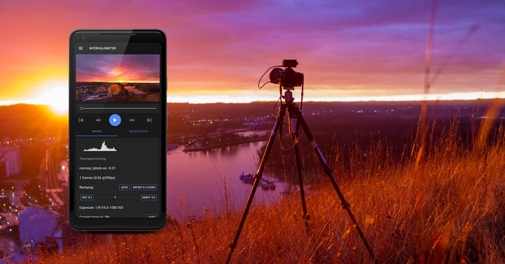 Timelapse-plus-view-app