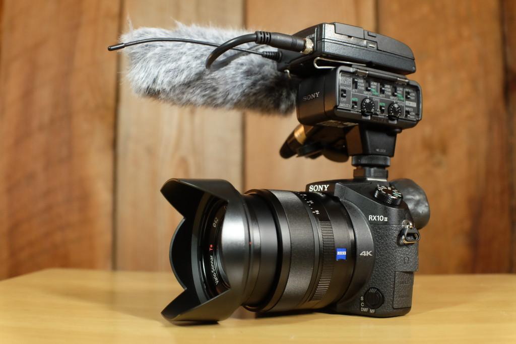 sony xlr-k2m-on-camera-mic
