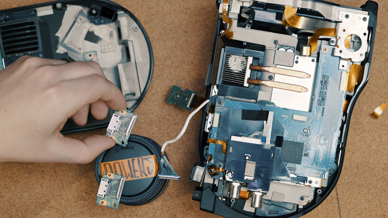 sony-fs7-camera-repair-assembly