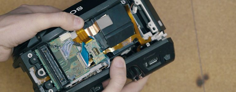 sony-fs7-viewfinder-repair