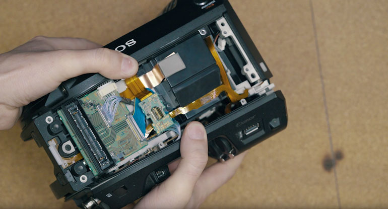 sony-fs7-viewfinder-repair