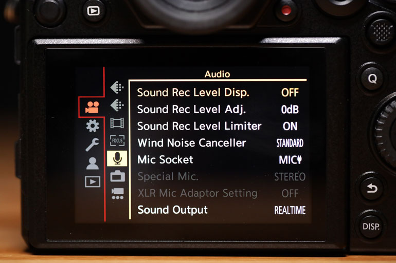 panasonic-s1-audio-recording