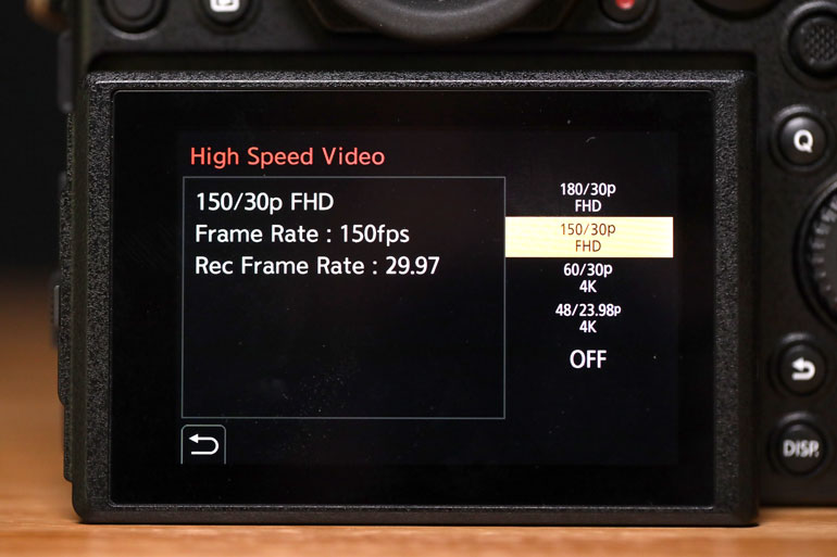 panasonic-s1-high-speed-video=150fps