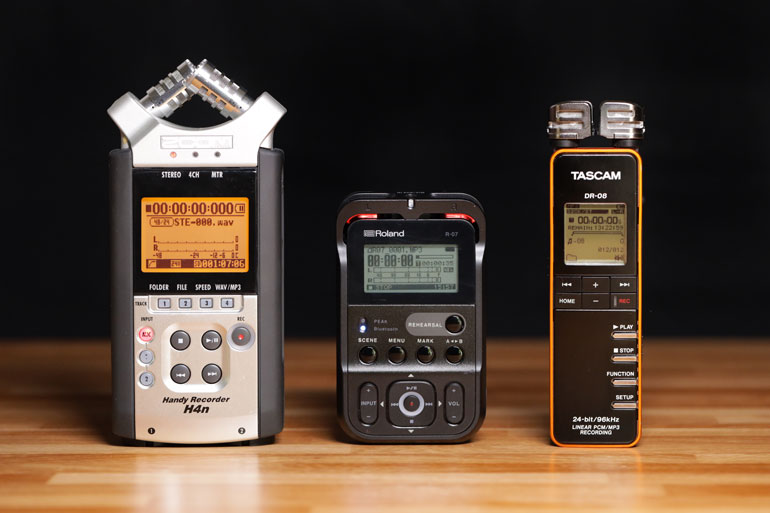 roland-vs-zoom-tascam