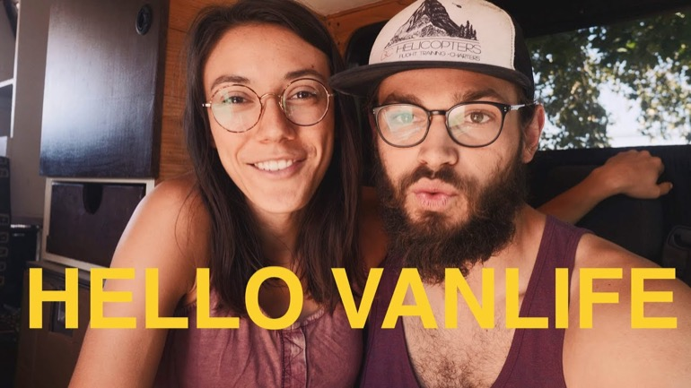Levi Allen Youtube Channel van life