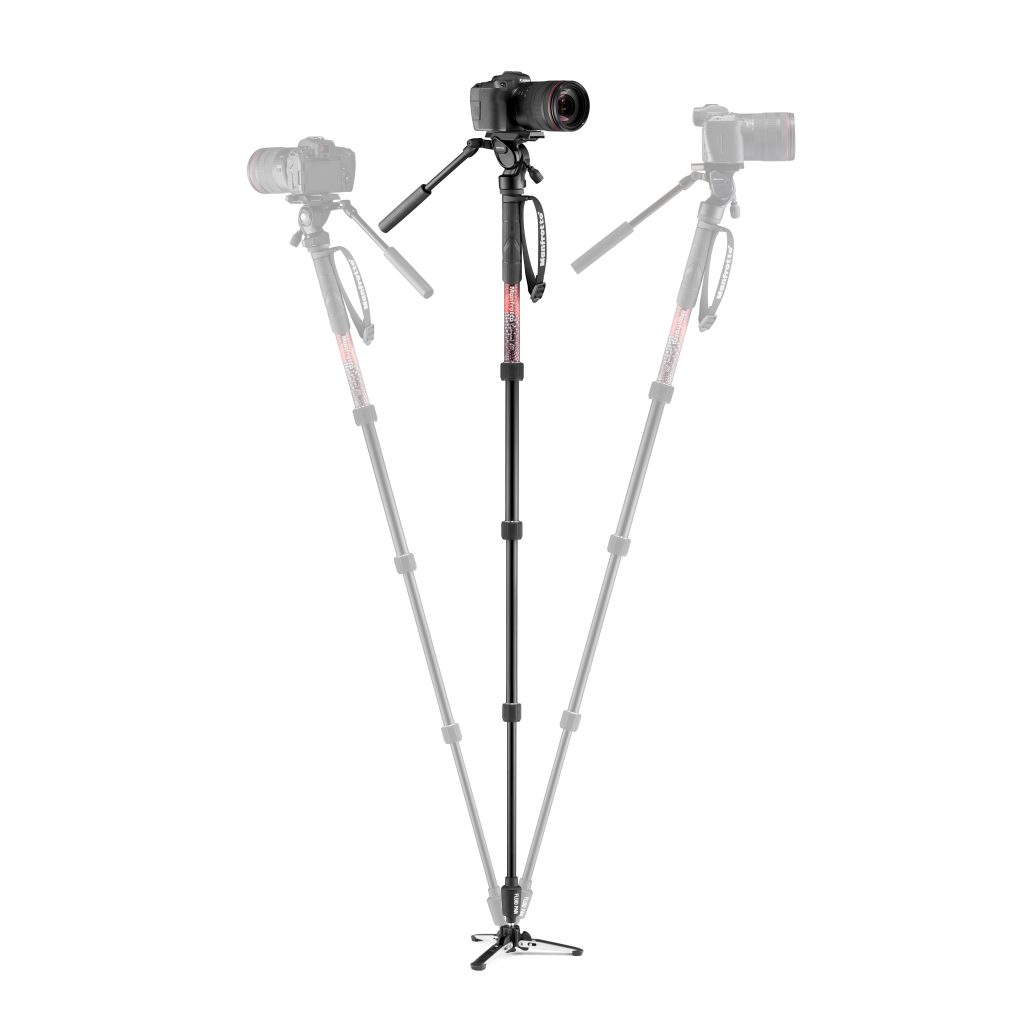 Manfrotto Element MII Element Video Monopod with Fluid Head (3)