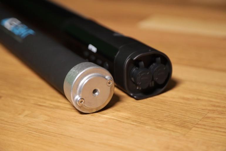 soonwell sensei rgb tube lights ice light 1-4 thread adapter