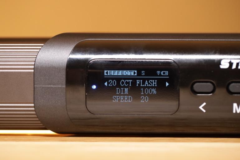 soonwell sensei rgb tube lights - st50 custom effect flash