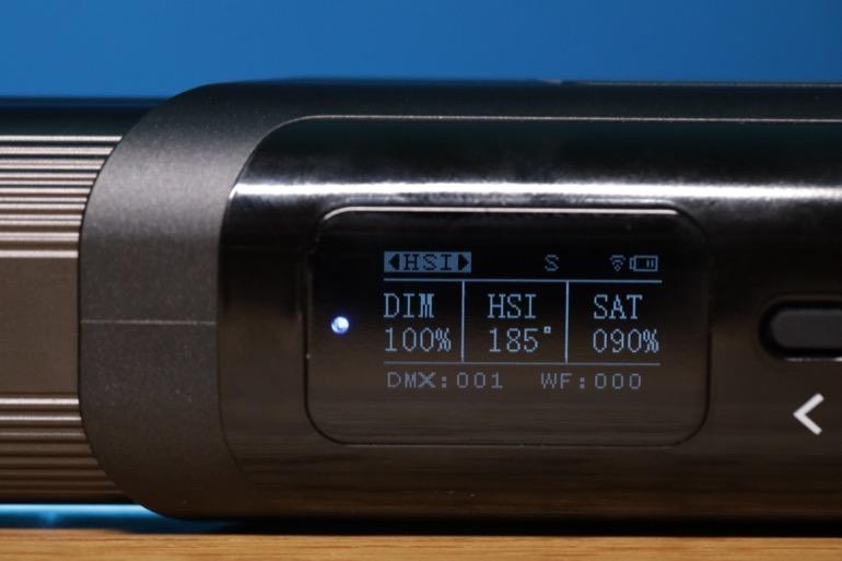 soonwell sensei rgb tube lights - st50 hsi mode