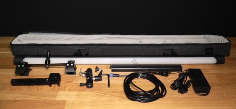 soonwell sensei rgb tube lights - st50 what's included bag
