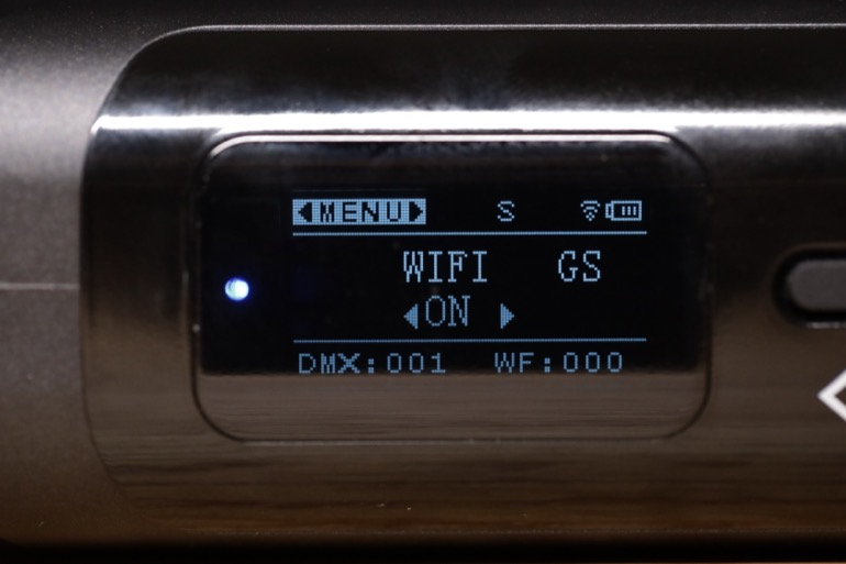 soonwell sensei rgb tube lights - st50 wifi menu