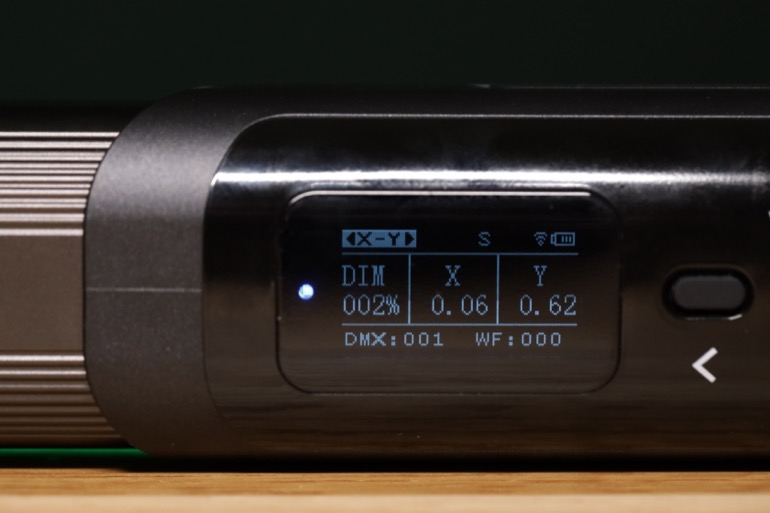 soonwell sensei rgb tube lights - st50 xy mode