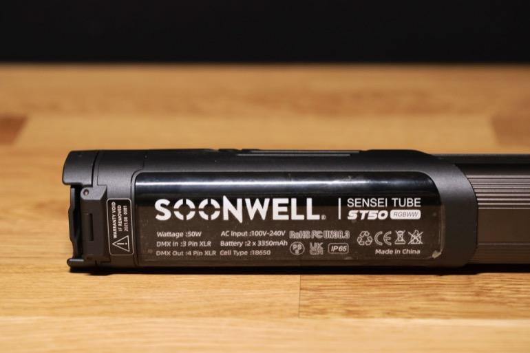 soonwell sensei rgb tube lights - st50